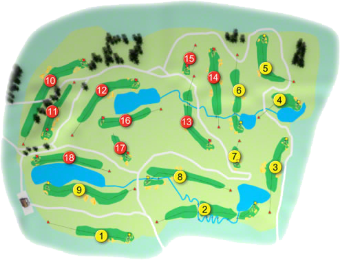 The Heritage Golf Course Layout