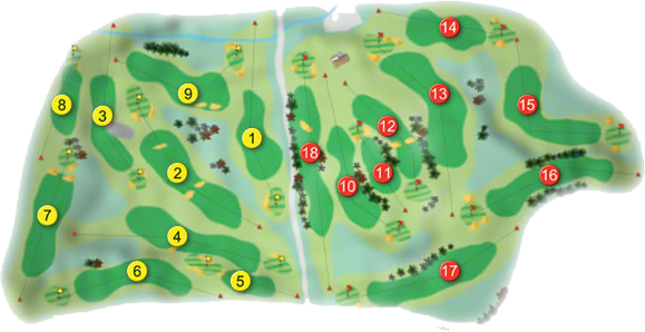 Thurles Golf Course Layout
