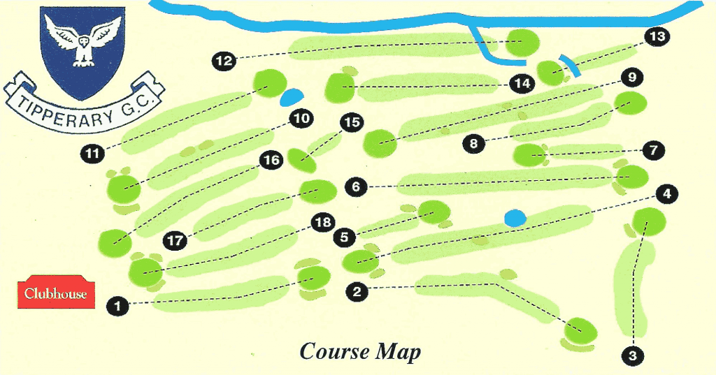 Tipperary Golf Course Layout
