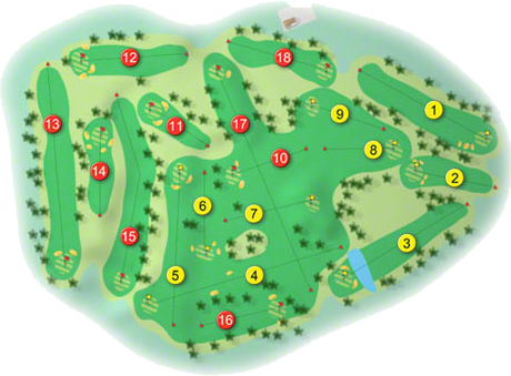 Warrenpoint Golf Course Layout