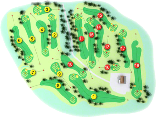 Waterford Golf Course Layout