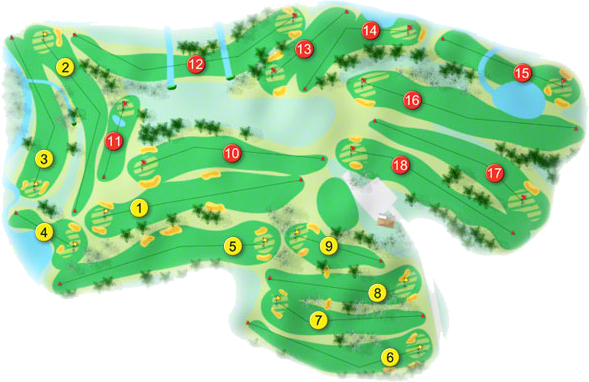 West Waterford Golf Course Layout