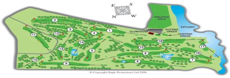 Woodstock Golf Course Layout