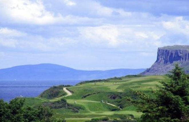 Ballycastle golf course Antrim