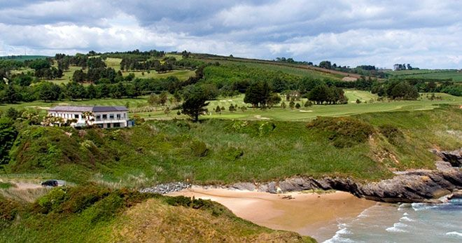 Blainroe golf course Wicklow