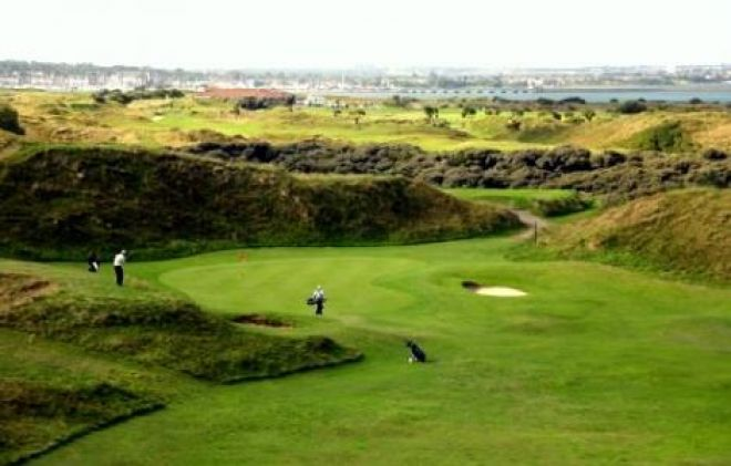 Corballis Links golf course Dublin