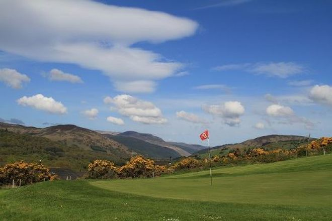 Glenmalure golf course Wicklow