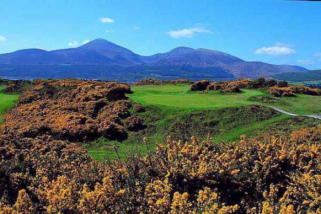Mourne golf course Down