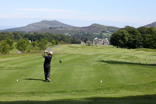 Powerscourt golf course Wicklow