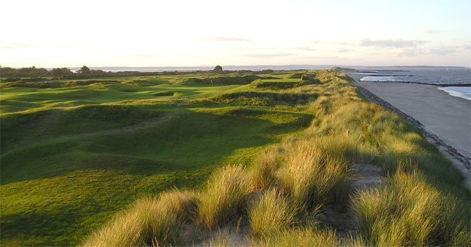 Rosslare golf course Wexford