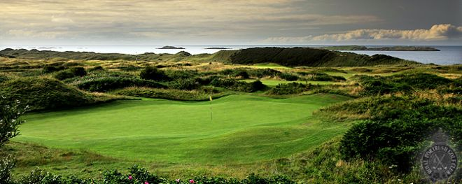 Royal Portrush golf course Antrim